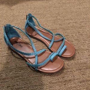 Minnetonka Turquoise Sandals